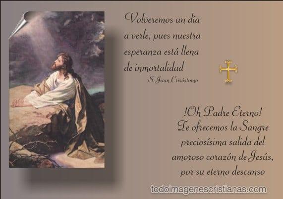 De Condolencias Cristianas Mensajes