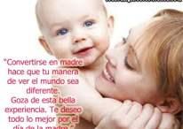 Imágenes con frases: Te deseo todo lo mejor por el día de la madre
