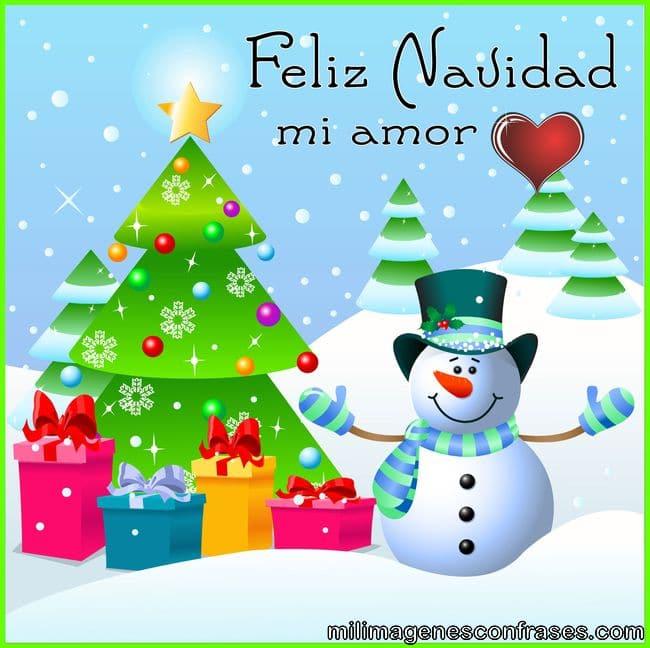 Imagenes y tarjeta de feliz navidad