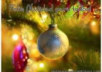 25 modelos de imágenes y tarjetas para desear Feliz Navidad