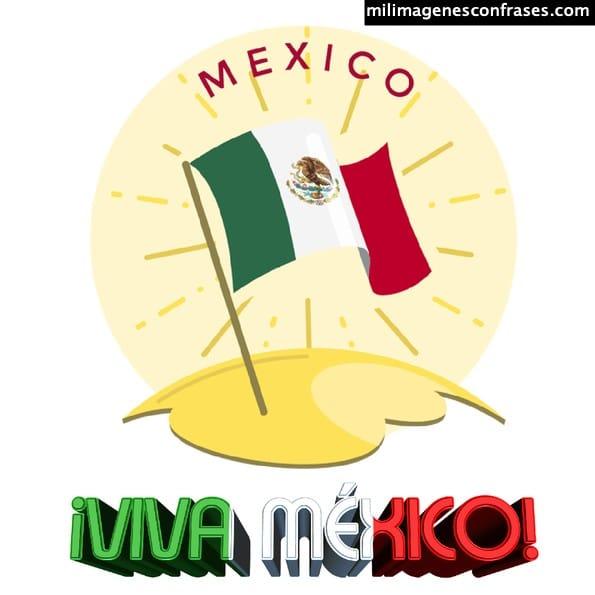 Imágenes y tarjetitas viva México