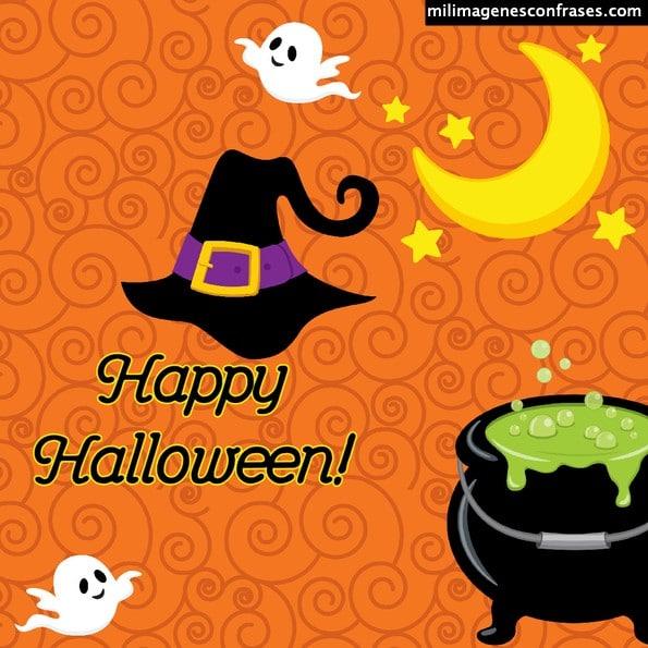 tarjetitas e imágenes de Happy Halloween