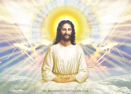 Jesus meditando