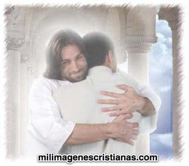 imagenes del abrazo de jesus