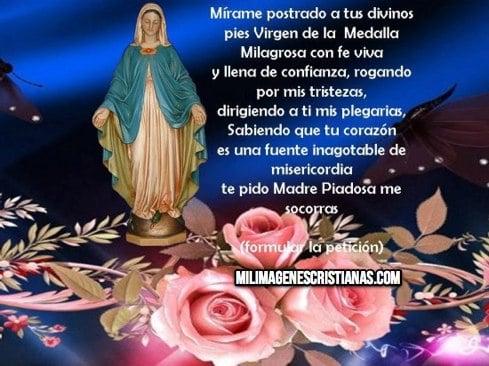 imagenes cristianas de la virgen de la medalla milagrosa