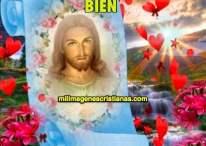 Imágenes cristianas: Ten fe Jesús está contigo