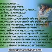 Imágenes cristianas con oración y bendiciones para mi familia