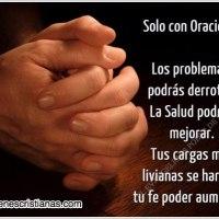 Imagen cristiana que habla sobre la importancia de la Oración