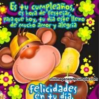 Imágenes de cumpleaños: Felicidades en tu día