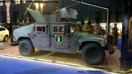 MSCA armor kits for the Lebanese Army Humvee at SMES 2015
