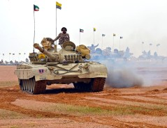 "A Kuwait Army M-84AB during ""Northern Thunder"""