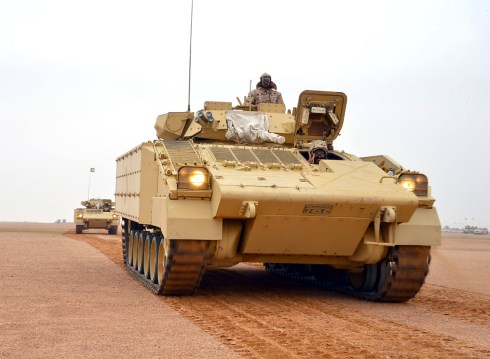 "Kuwait Army Desert Warrior during ""NorthernThunder"""
