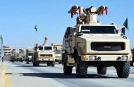 "Saudi Arabian National Guard SOFRAME MPCV during ""Northern Thunder"""