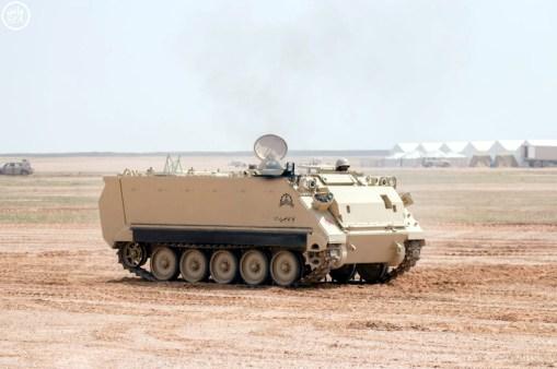 "A Royal Saudi Land Force M113A3 during ""Northern Thunder"""