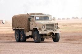 "A Royal Saudi Land Force M923A2 during ""Northern Thunder"""