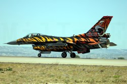 A Turkish Air Force F-16C Block 50 at NTM 2016, Zaragoza Air Base, May 20.