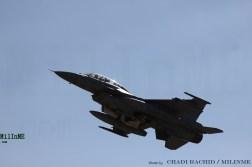 A Turkish Air Force F-16D Block 50 at NTM 2016, Zaragoza Air Base, May 20.