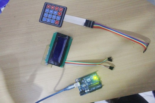 Display output keypad to LCD using arduino UNO - miliohm com
