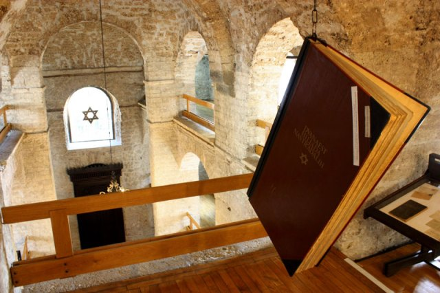 Inside the Jewish Museum in Sarajevo. Picture from muzejsarajeva.ba.