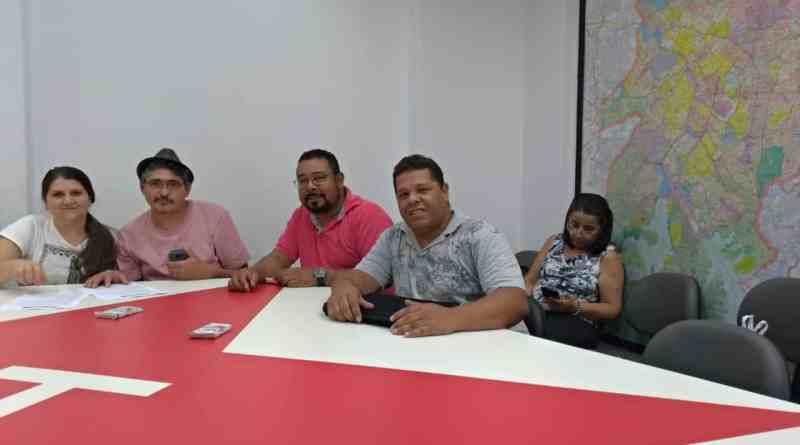 coordenação municipal reunida