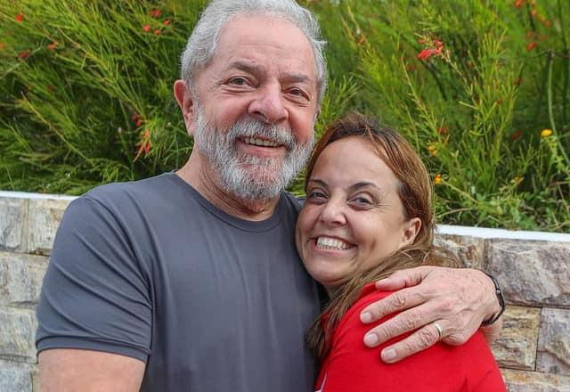 Lula e sua filha Lurian