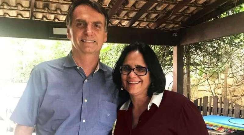 Bolsonaro e Damaris