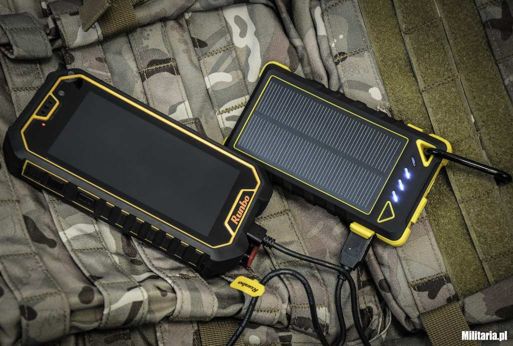 Powerbank Rugged Solar i smartfon Runbo X6