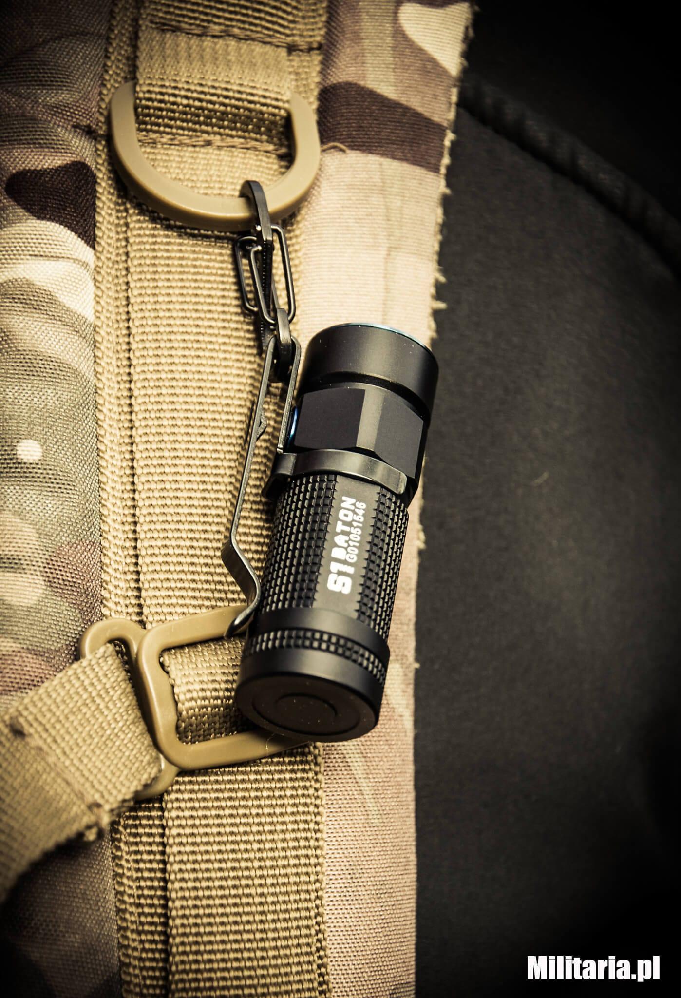 Brelok Nite Ize S-Biner KeyRack Black z latarką