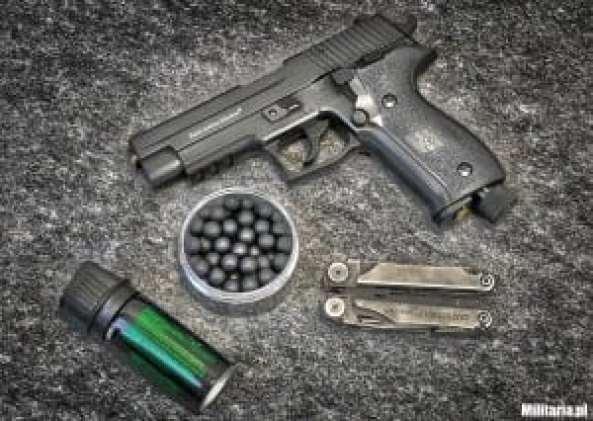 broń na kule gumowe, kule gumowe, gaz pieprzowy,. multitool