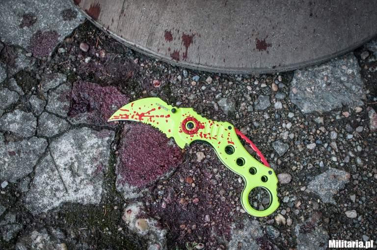 nóż składany z-hunter master cutlery