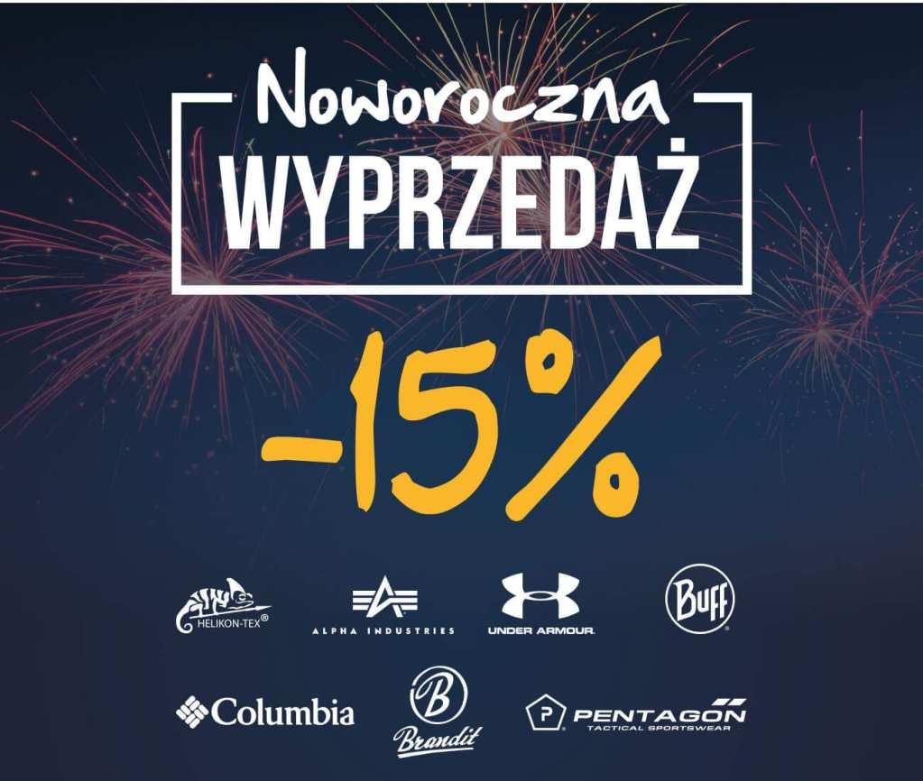 Noworoczna wyprzedaż w Militaria.pl!