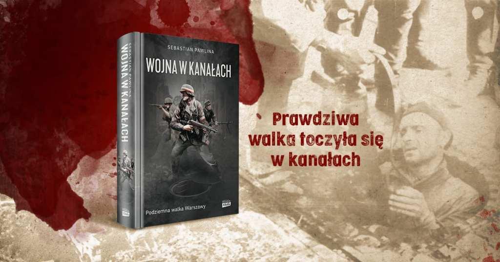 Wojna w kanałach Sebastian Pawlina