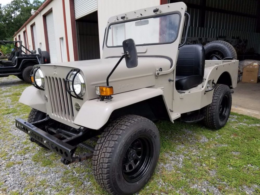 medium resolution of made by mitsubishi 1987 willys jeep cj3b military