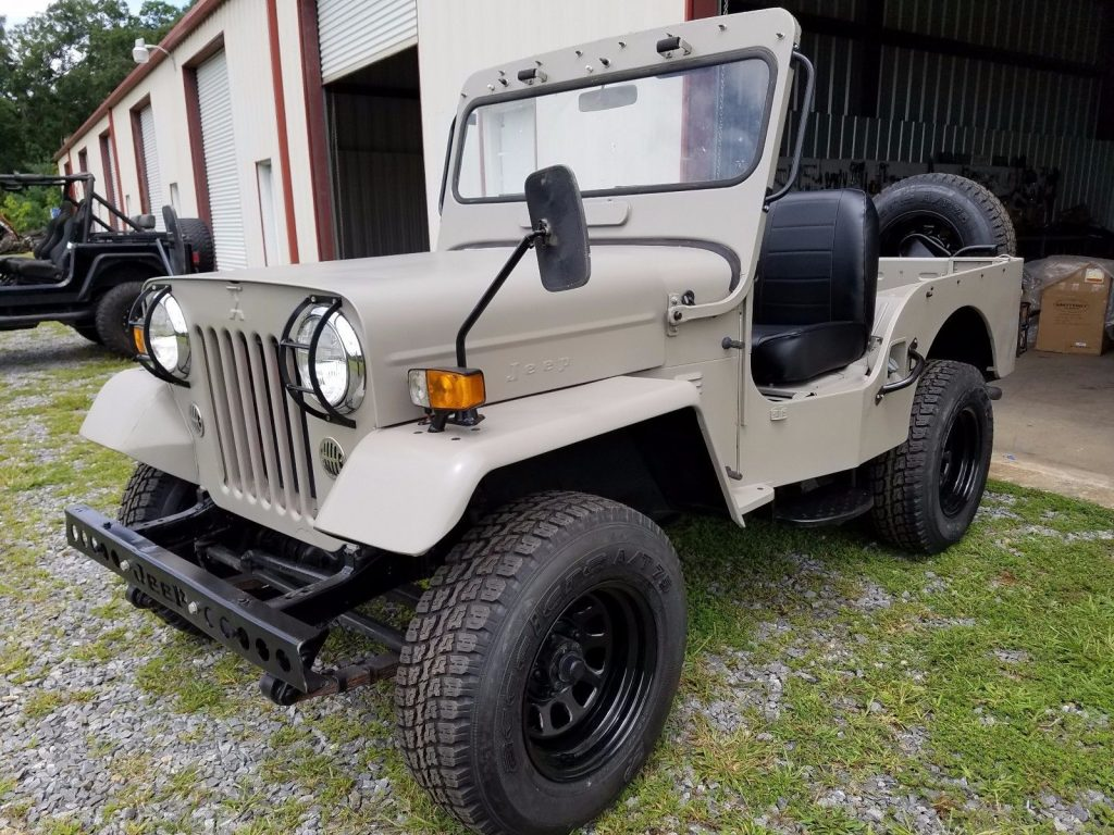 hight resolution of made by mitsubishi 1987 willys jeep cj3b military