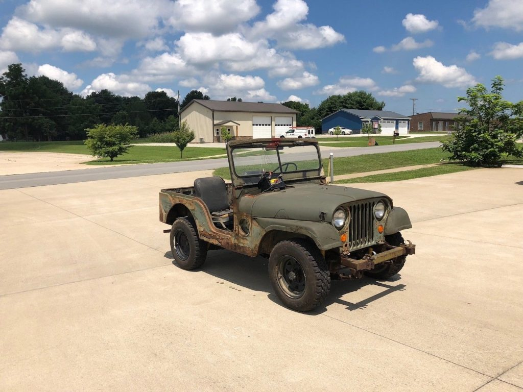 hight resolution of needs restoration 1952 jeep m38a1 military