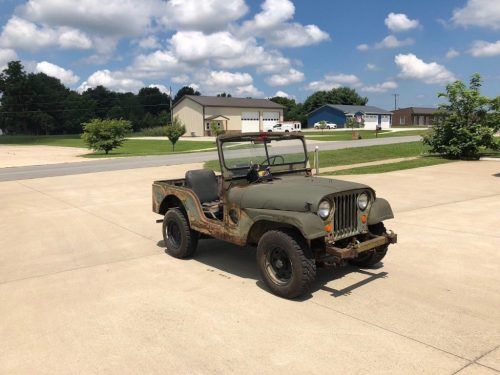 small resolution of needs restoration 1952 jeep m38a1 military