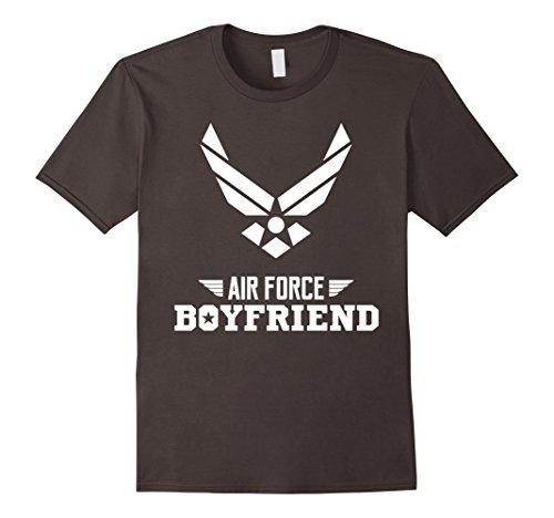 Mens Air Force Boyfriend T Shirt Birthday Gift