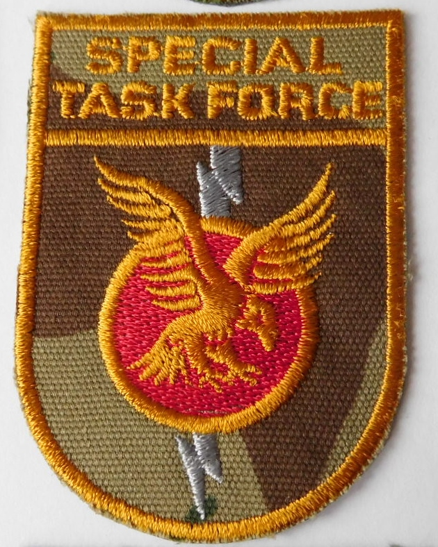 SAP South African Police Special Task Force patch Right hand CAMO