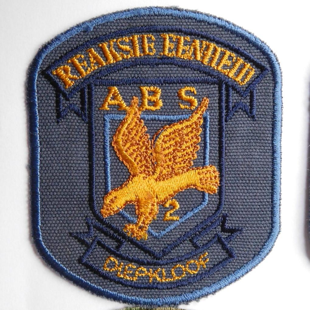 SAP South Africa Police 2 Reaction Unit DIEPKLOOF Arm Cloth Badge BLUE