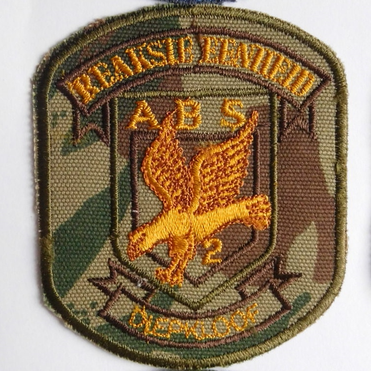 SAP South Africa Police 2 Reaction Unit DIEPKLOOF Arm Cloth Badge CAMO
