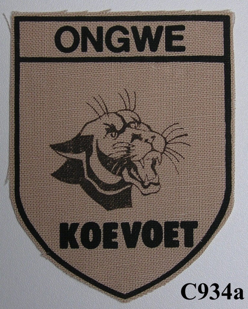 KOEVOET SWA South West Africa ELITE Police SWAPOL Special Force ONGWE