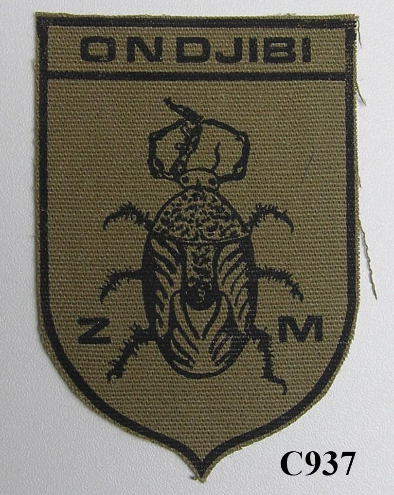 KOEVOET SWA South West Africa ELITE Police SWAPOL Special Force ONDJIBI