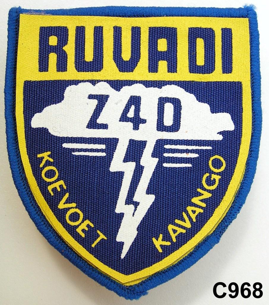 KOEVOET SWA South West Africa ELITE Police SWAPOL Special Force RUVADI Z4D KAVANGO