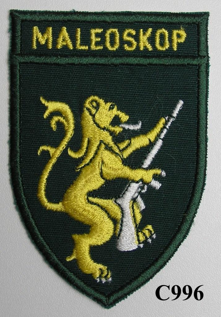 KOEVOET SWA South West Africa ELITE Police SWAPOL Special Force slip on early type MALEOSKOP