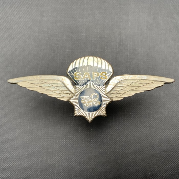 SAPS AFRICA Special Task Force Police Rhodesia Bush Border War Scorpion Wing IV
