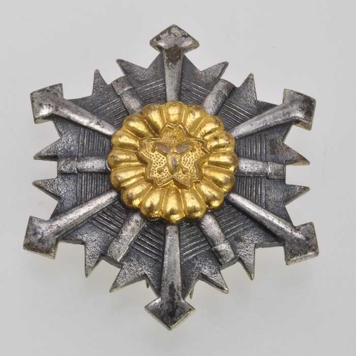 Japan Fire Brigade Merit Medal Order Japanese Army Badge Insignia 4
