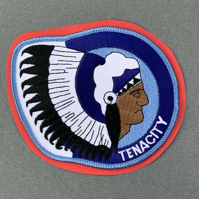 Belgium Belgian Air Force Indian Badge Patch The 15 Wing Tenacity