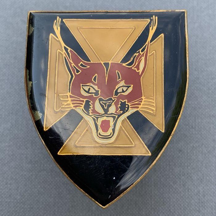 SADF 7 SA South Africa Infantry Battalion Enamel Flash Badge