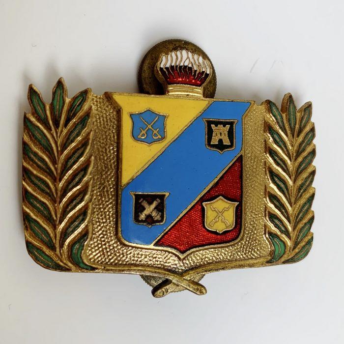 VENEZUELA School Escudo Academia Militair Officers School Beret Headdress badge