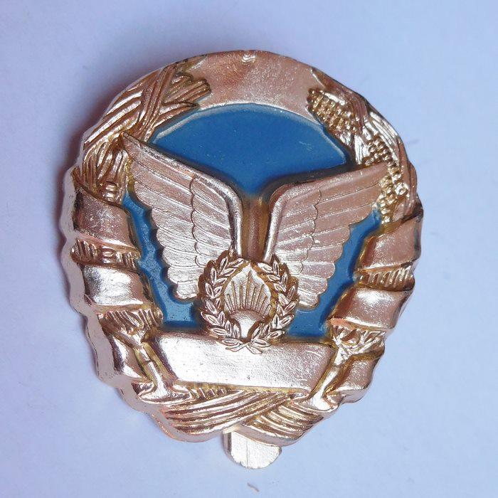 Portugal MOZAMBIQUE Army Airborne Parachutist qualification Beret badge Blue